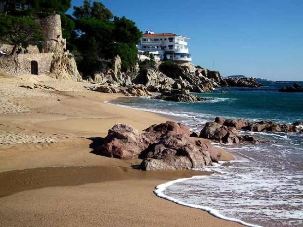 Playa de Aro, en la Costa Brava de Girona