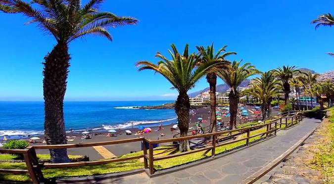 La Playa de la Arena, en Tenerife
