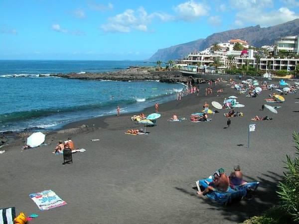 Playa de la Arena, en Tenerife