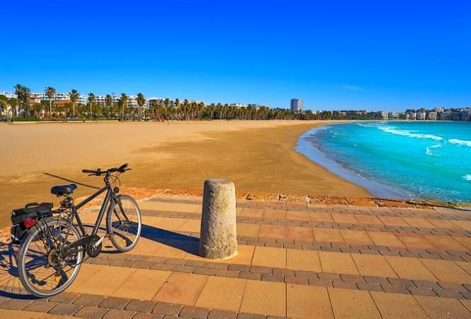 La Playa de Levante, todo un símbolo de Salou