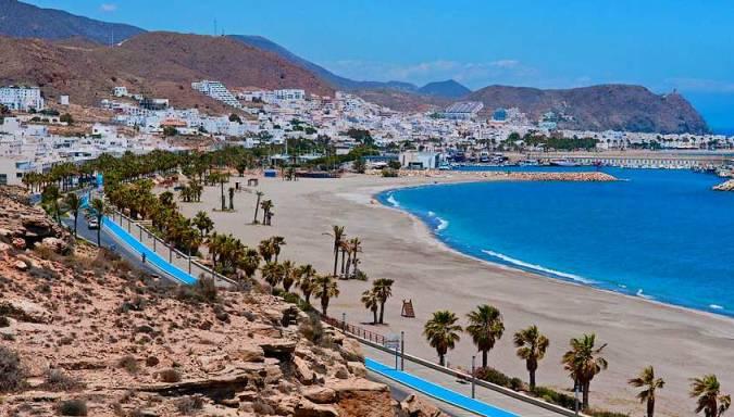 La localidad de Carboneras, en Almería