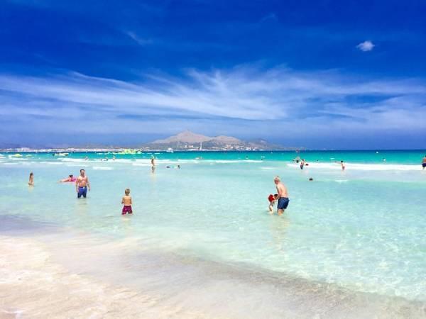 La paradisíaca playa de Muro, en Mallorca