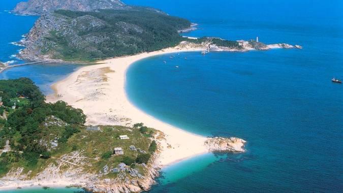 La Playa de Rodas, en las gallegas Islas Cíes