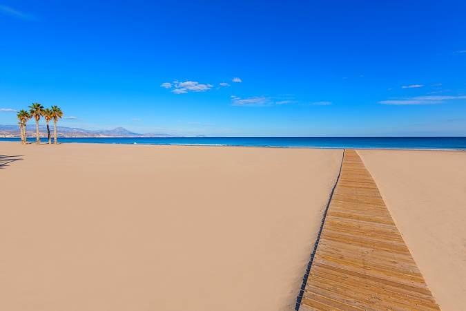 La Playa de San Juan, en Alicante