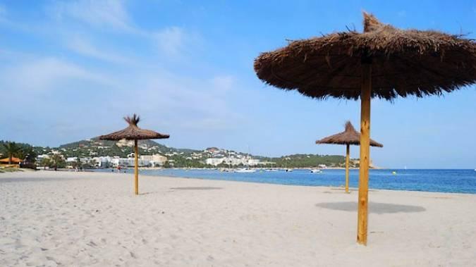 La playa ibicenca de Talamanca
