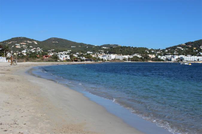 La Playa de Talamanca, en Ibiza