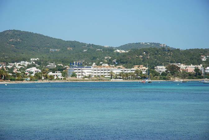 Playa de Talamanca, en Ibiza
