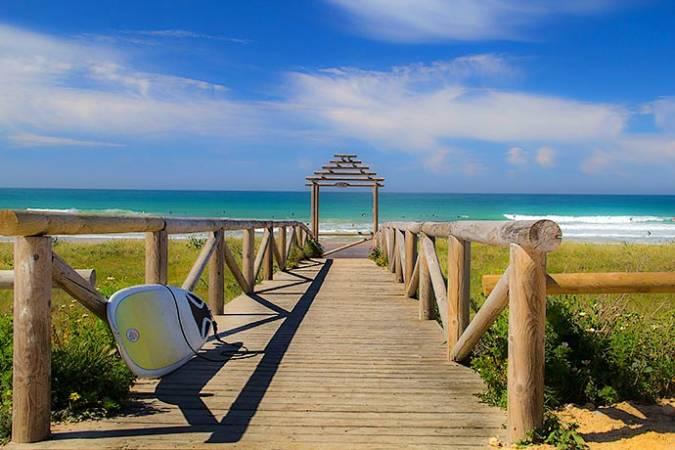 La Playa de El Palmar, un paraíso en Cádiz