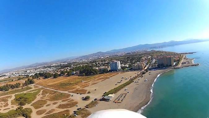 Nos vamos a la playa de Guadalmar, en Málaga