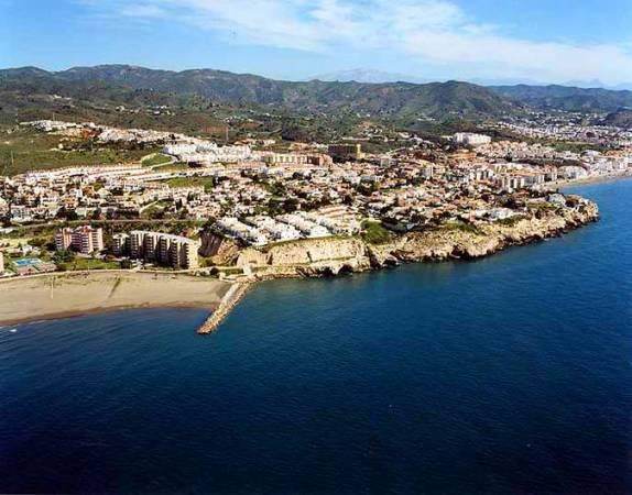 Panorámica de La Cala del Moral, en Málaga