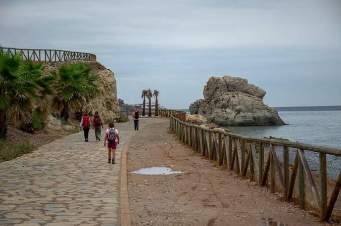 Paseo Marítimo de La Cala del Moral, en Málaga