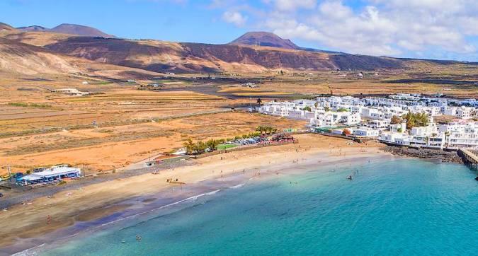 Playa de La Garita, en Arrieta, Lanzarote