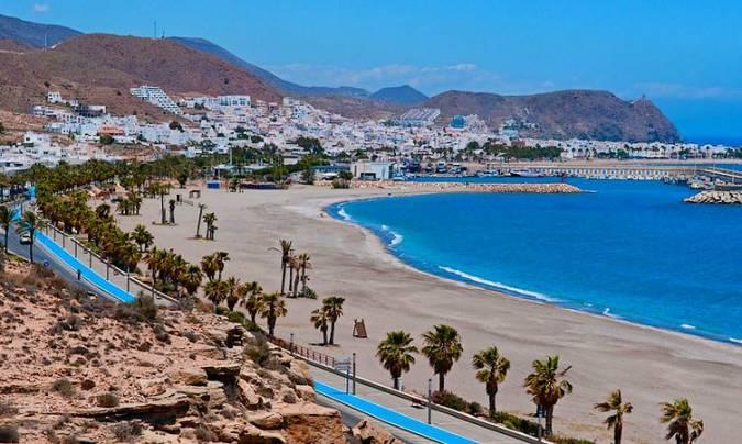 La Playa de Las Marinicas, en Almería