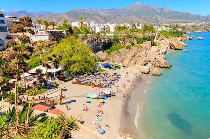 La playa más bonita de Málaga