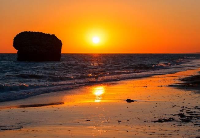 La playa de Matalascañas, en Huelva