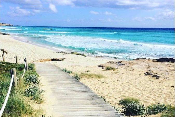Image result for playa de migjorn formentera
