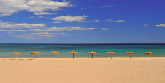 Playa de Muchavista, en El Campello, Alicante
