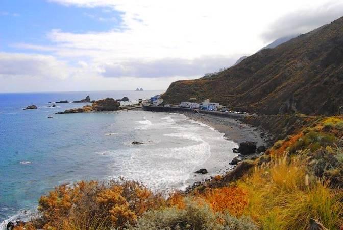 La Playa del Roque de las Bodegas, en Tenerife