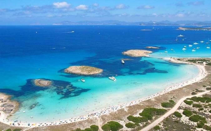 La Playa de Ses Illetes, en Formentera