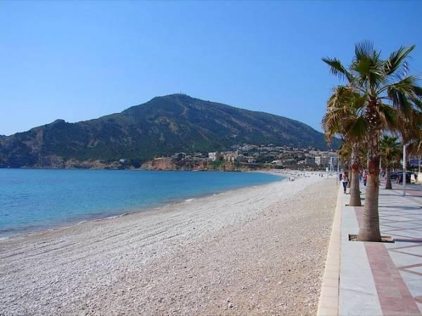 Playa del Albir, en Alfaz del Pi, Alicante