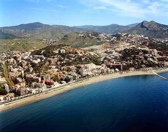 Playa de la Caleta, en Málaga