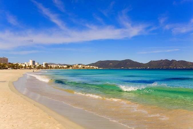 Las playas de Cala Millor, en Mallorca