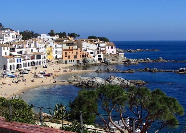 Playas de Calella, en la provincia de Barcelona