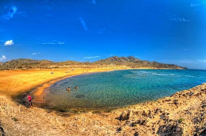 Las playas con más encanto de la Región de Murcia