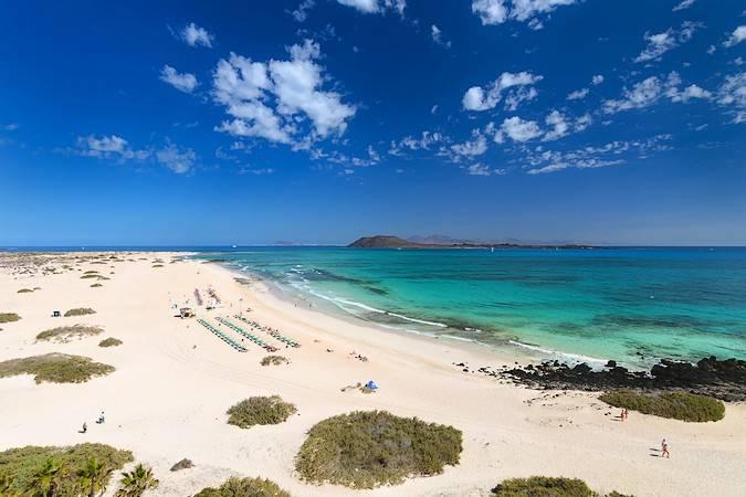 Las Playas de Corralejo, en Fuerteventura