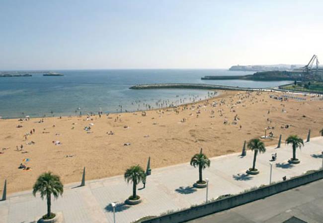 Playa del Arbeyal en Gijón