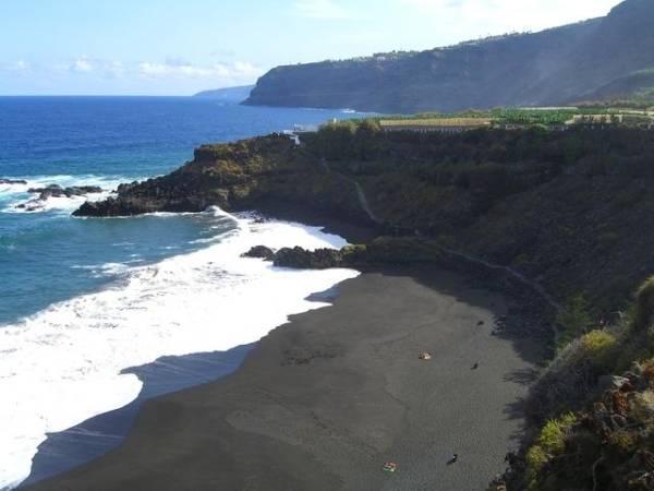 Playa El Bollullo, en La Orotava, Tenerife