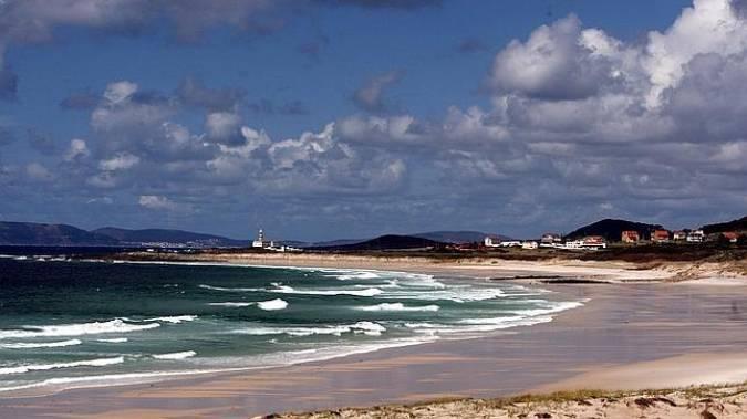 Playa de Ancoradoiro, en la Costa da Morte, Galicia