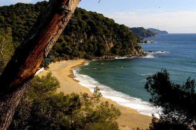 Playas de Lloret de Mar, en Girona