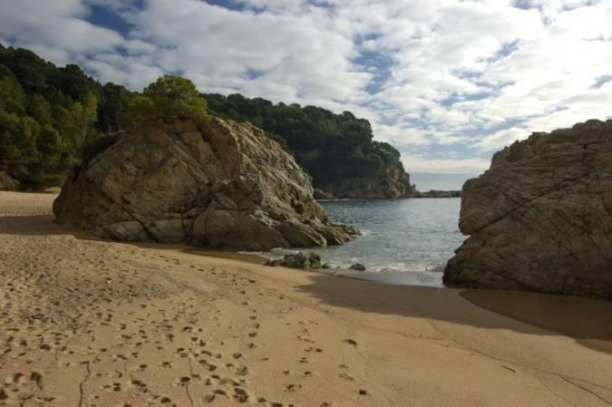 Cala Canyelles, en Lloret de Mar