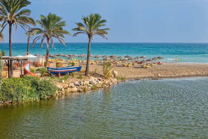 Playa de Río Verde, en Marbella