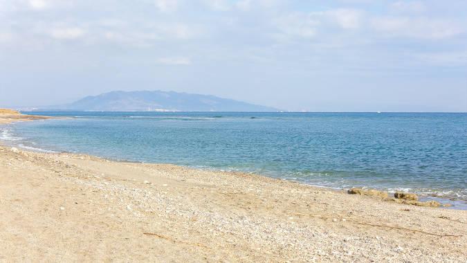 Playa La Rumina y El Palmeral, en Mojácar, Almería