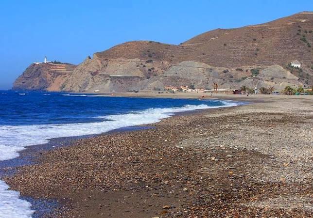 Playa de Carchuna, en Motril
