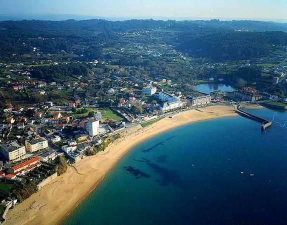 Playa de Mera, en Oleiros, A Coruña