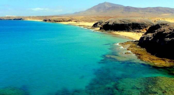 Las Playas de Papagayo, en Lanzarote