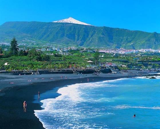 Playas del Puerto de la Cruz, Tenerife