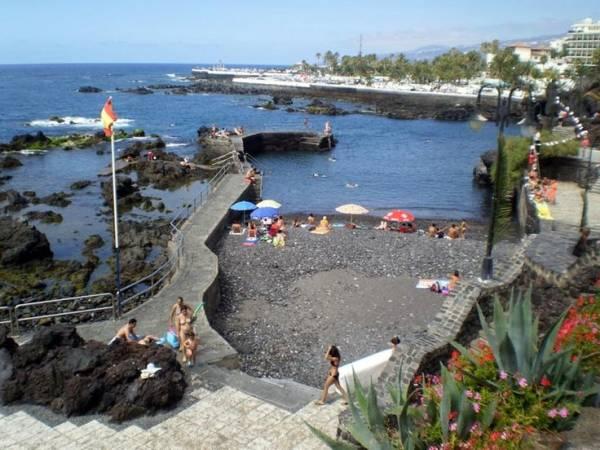 Playas del puerto de la cruz tenerife - Hotel san telmo puerto de la cruz tenerife ...