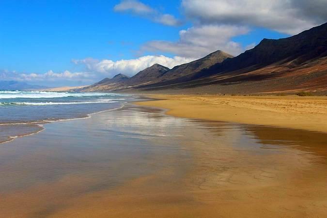 Playa de Cofete, en Fuerteventura