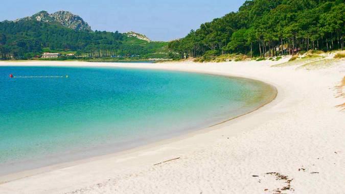 Playa de Rodas, en las Islas Cíes, Galicia