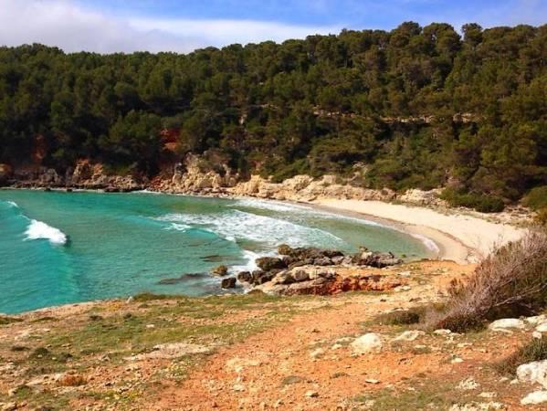 Cala Escorxada, en Menorca