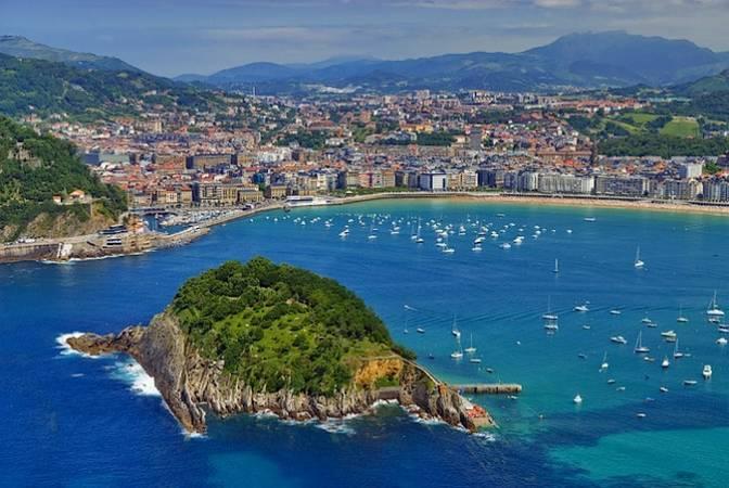 Las cuatro playas de San Sebastián