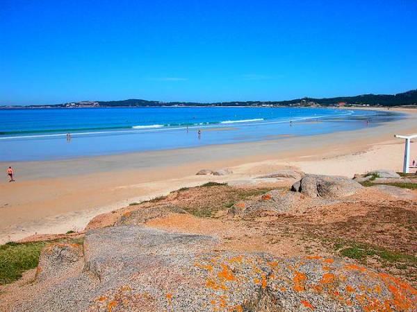 Playas de Sanxenxo, en Pontevedra