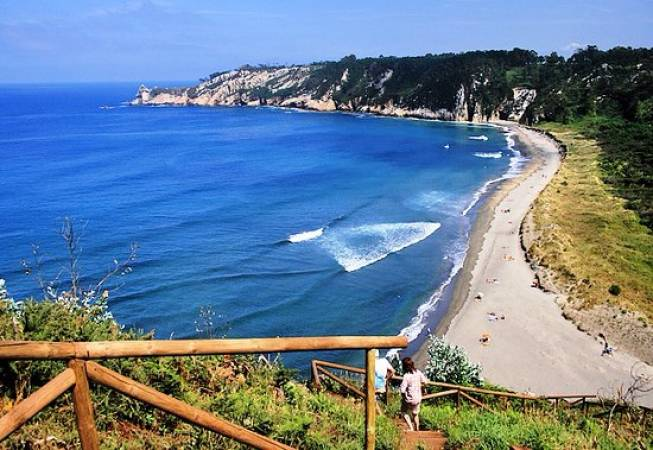 Playa de Barayo, en Asturias