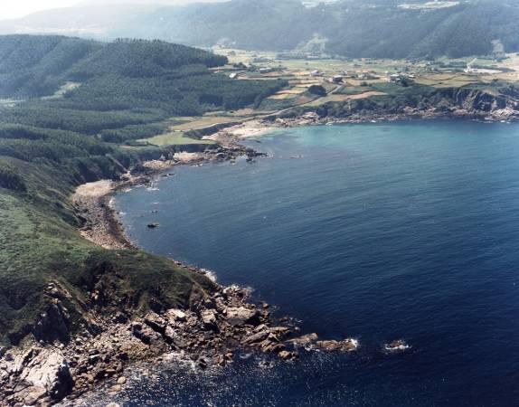 Playa de Moinelo, en Xove, Lugo