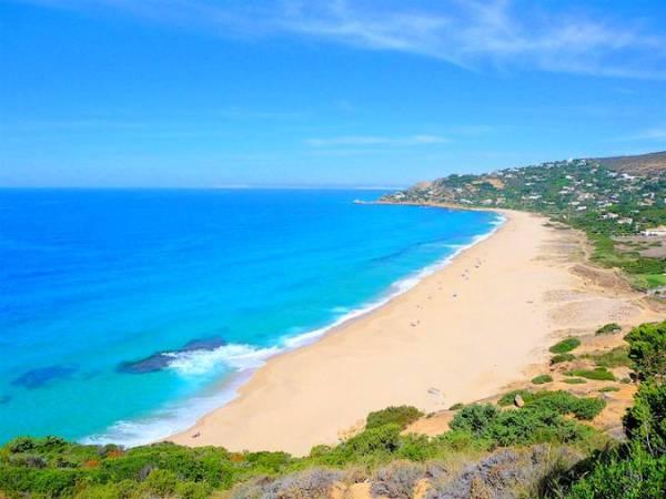Las playas de Zahara de los Atunes, en Cádiz