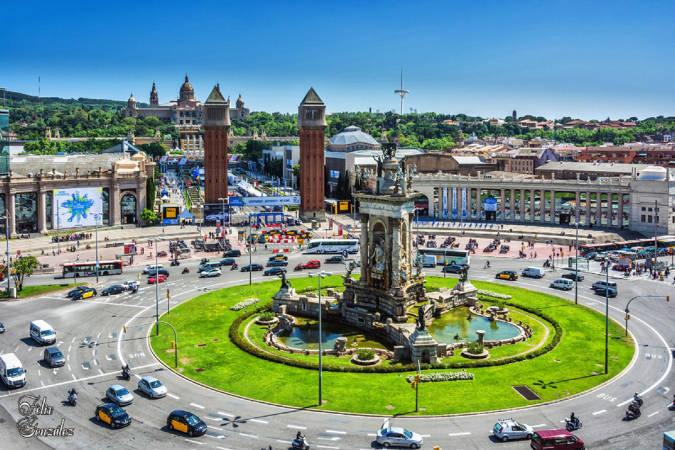 Las plazas más famosas de Barcelona